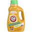 Arm & Hammer™ HE Compatible Liquid Detergent, Unscented, 50 oz Bottle Thumbnail 1