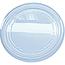 "Fabri-Kal® Alur Deli Container Lid, Clear, 4.7"" x 0.4"", 500/CS Thumbnail 1"