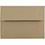 "JAM Paper A6 Premium Invitation Envelopes, 4 3/4"" x 6 1/2"", Brown Kraft Paper Bag, 250/CT Thumbnail 1"