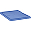 Quantum® Storage Systems Geniune Stack and Nest Tote Lid, Pair with SNT225 or SNT230, Blue, 3/CT Thumbnail 1