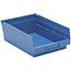 "Quantum® Storage Systems Economy Shelf Bins, 11-5/8"" x 8-3/8"" x 4"", Blue, 20/CT Thumbnail 1"