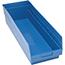 "Quantum® Storage Systems Store-More Bins, 23-5/8"" x 8-3/8"" x 6"", Blue, 6/CT Thumbnail 1"