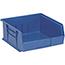 "Quantum® Storage Systems Ultra Stack & Hang Bins, 10-7/8"", x 11"", x 5"", Blue, 6/CT Thumbnail 1"