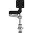 R-Go Tools Caparo D2 Circular Single Monitor Arm Desk Mount Thumbnail 1
