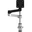R-Go Tools Zepher C2 Circular Single Monitor Arm Desk Mount Thumbnail 1