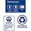 "Tork® Matic® Advanced Paper Towel Roll H1, Hand Towel, 2-Ply, 7.7"" W x 525' L, White, 6 Rolls/Case Thumbnail 2"