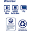 """Tork® Universal Hardwound Paper Roll Towel, 1-Ply, 7.88"""" Width x 800' Length, Natural, 6 Rolls/Case Thumbnail 6"""
