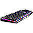 Verbatim® The Authentic S.T.R.I.K.E. 2 Chameleon RGB Membrane Gaming Keyboard, Black Thumbnail 1