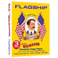 """Flagship™ 3-Hole Punched Copy Paper, 8-1/2"""" x 11"""", 20 lb., 92 Bright, 500/RM Thumbnail 1"""