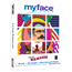 myface™ Extra-Heavy Color Copy Paper, 100 Bright, 28 lb., 8 1/2 x 11, White, 500/RM Thumbnail 1
